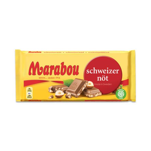Marabou gehackte Haselnüsse