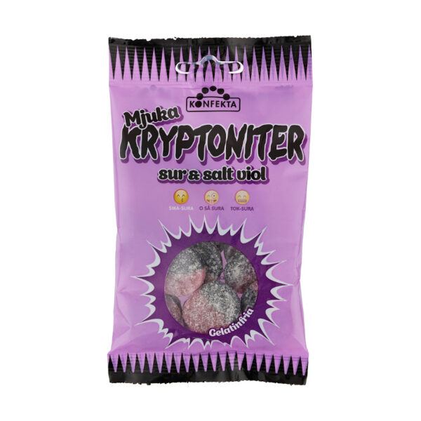 Konfekta Kryptoniter Veilchen Fruchtgummi