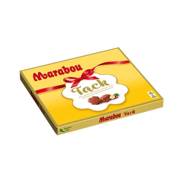 marabou tack pralinen